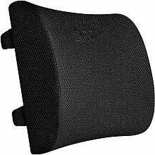 Desk Chair CushionSoft Memory Foam Lumbar Support