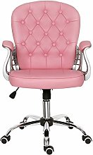 Desk Chair for Home,Leather Ergonomic Office Chair