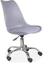 Desk Chair Symple Stuff Colour: Light Grey