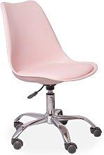 Desk Chair Symple Stuff Colour: Pink