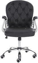 Desk Chair Symple Stuff Colour (Upholstery): Black
