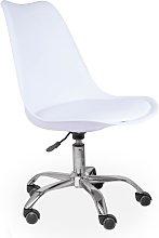 Desk Chair Symple Stuff Colour: White
