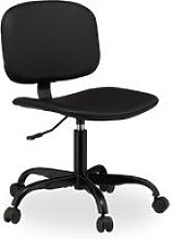 Desk Chair with Castors, Height-Adjustable, Comfy