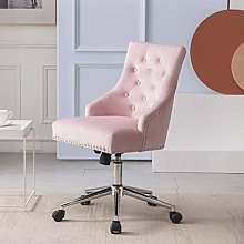 Desk Chair with Knocker Ring Upholstered Office