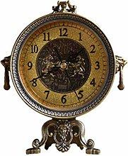 Desk Clock Antique Clock Home Decoration Fashion