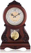 Desk Clock Pendulum Clock Mute Shelf Clock Desk