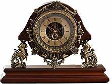 Desk Clock Table For Living Room Decor Vintage