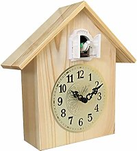 Desk Clocks Solid Wood Mute Desk Clock Cuckoo