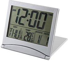 Desk Digital LCD Thermometer Calendar Alarm Clock