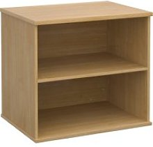 Desk End Bookcases, Oak, Free Express Delivery