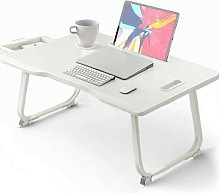 Desk; foldable laptop, table; portable bed