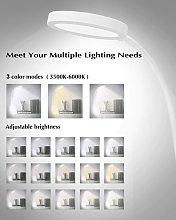 Desk Lamp, Dimmable Led Desk Lamp with 3 Lighting