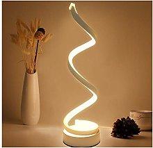 Desk Lamp,LED Table Lamp Spiral Desk Lamp Warm