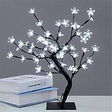 Desk Lamps LED Cherry Blossom Bonsai Light Sakura