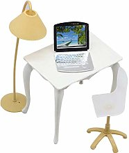 Desk Laptop Lamp Chair Furniture Accessories for