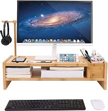 Desk Monitor Stand Laptop Computer Screens Riser