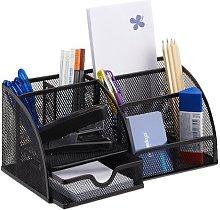 Desk Organiser Symple Stuff Colour: Black