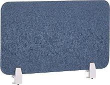 Desk Screen 72 x 40 cm Blue WALLY