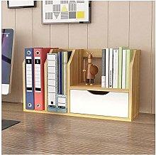 Desk Shelves Office Desktop Bookshelf Countertop