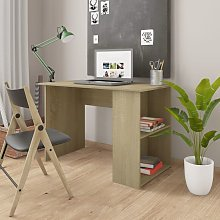 Desk Sonoma Oak 110x60x73 cm Chipboard