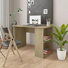 Desk Sonoma Oak 110x60x73 cm Chipboard