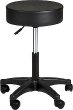 Desk stool - black