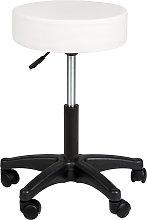 Desk stool - white