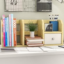 Desk Storage Shelf with Bin Rebrilliant