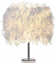 Desk Table Adjustable Table Lamp Feather Table