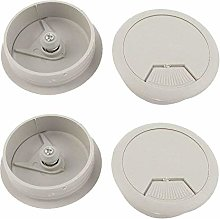 Desk Wire Hole Cover Circle Cable Tidies Plastic