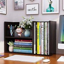 Desktop bookcase Space Saving Bookcase Wood Desk