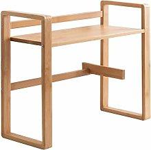 Desktop Bookshelf Bamboo Multipurpose Desktop