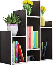 Desktop Bookshelf Desk Storage Organizer Desktop