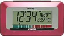 Desktop Clock Technoline Colour: Metallic Red