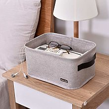 Desktop Debris Basket Storage Box Nursery Bin Toy