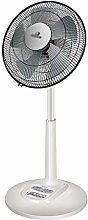 Desktop Fan, 14 Inch Lift Pedestal Fans Round Base