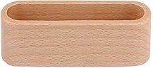 Desktop Name Card Organizer Wooden Box Business
