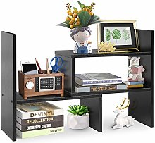 Desktop Organizer DIY Table Storage Rack Wooden