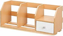 Desktop Shelves Desktop Bookshelf with Sliding
