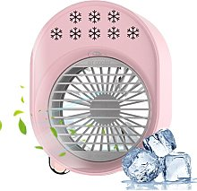 Desktop spray cold air conditioner, suitable for