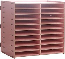Desktop Stationery Storage Box Vertical Desk Top