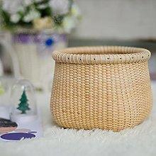 Desktop storage basket vine storage basket