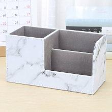 Desktop Storage Box, Multifunctional Pen Holder,