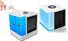 Desktop Water Cooling Air Cooler: with LCD Display