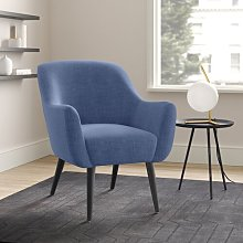 Desmond Armchair Hykkon Upholstery Colour: Dark