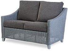 Desser Dijon Grey Wash Conservatory 2 Seater Sofa