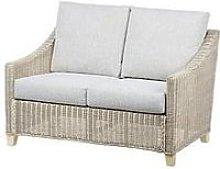 Desser Dijon Natural Conservatory 2-Seater Sofa