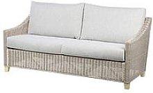 Desser Dijon Natural Conservatory 3-Seater Sofa