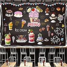 Dessert Mural Wallpaper for Kids Bakery Cake Shop