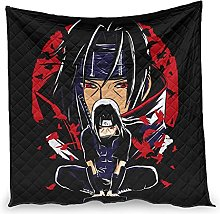 Dessionop Anime Itachi Red Crow Print Day Air